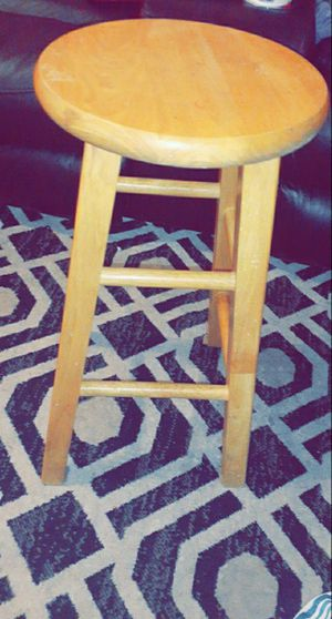 Wooden stool for Sale in Cedar Park, TX