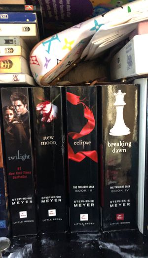 4 twilight books for Sale in Los Angeles, CA
