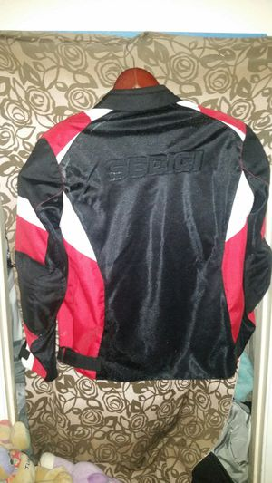 SEDICI MOTORCYCLE JACKET - RED WHITE BLACK for Sale in Las Vegas, NV