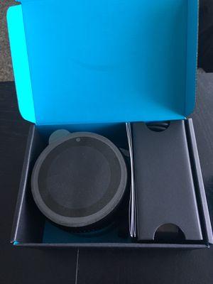 Amazon Echo spot Black - Barely used - Brand new for Sale in Boynton Beach, FL