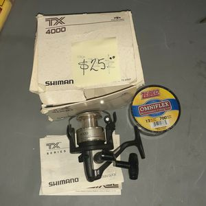 Shimano Tx 4000 Trolling Reel for Sale in Mesa, AZ