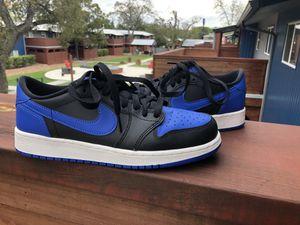wholesale dealer d9a7e 80ec7 Nike Air Jordan I Retro 1 ROYAL Low 6 Youth   Womens 7.5 Nikes Jordans  Retros