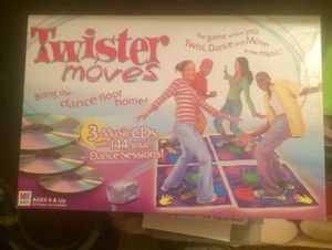 Get to TWISTERIN'... excellent for exercise... Fun for whole family...Twister moves board game! for Sale in Parkersburg, WV
