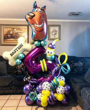 Scobby Doo balloon bouquet for Sale in Phoenix, AZ