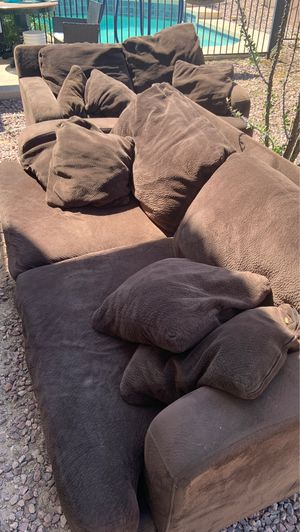 Micro fiber couch and love seat for Sale in Phoenix, AZ