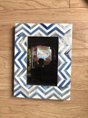 Unique blue photo frame for Sale in Clarksburg, MD