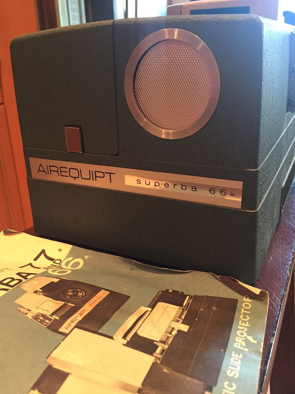 Airquipt Superba Vintage Slide Projector