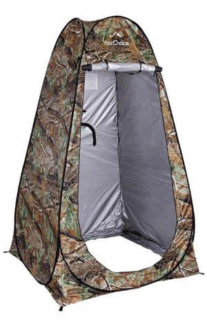 🔥Brand new! Pop Up Camping Tent Toilet Shower Beach Tent Outdoor Changing Room Camouflage for Sale in St. Cloud, MN