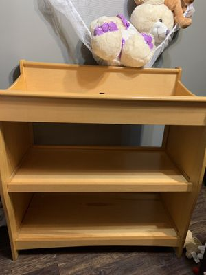 Pine changing table for Sale in Irving, TX
