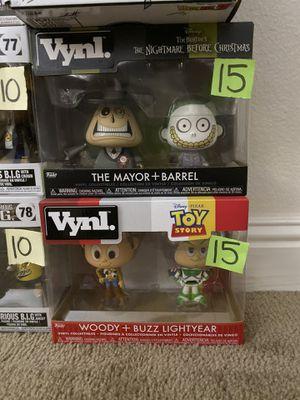Woody buzz mayor Funko vynl for Sale in Tustin, CA