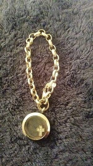 sterling silver Orgami Owl charm bracelet for Sale in Colorado Springs, CO