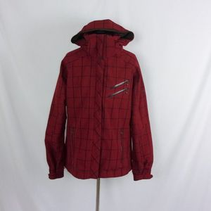 Columbia Titanium Jacket Women's Red Plaid Large for Sale in Washougal, WA