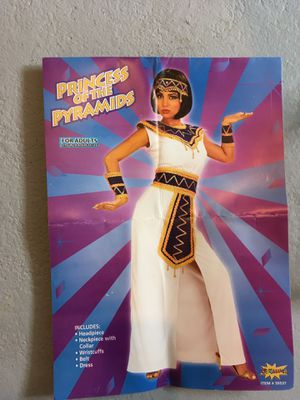 Princes of the pyramids adult costume size large for Sale in Columbus, OH