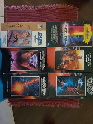 Star Trek I-VI movies (original series cast) on VHS for Sale in Fort Lauderdale, FL