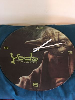"""Clock Star Wars """" Yoda"""". Works well for Sale in Portland, OR"""