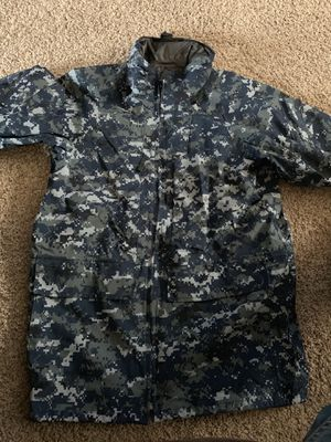 Navy Camo Gortex Parka for Sale in Columbia, MD
