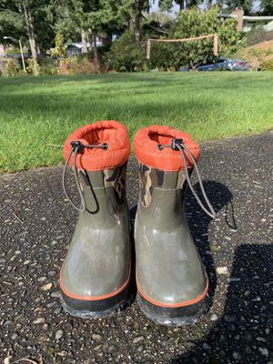 BOGS rain and snow boots. Kids size 11 for Sale in Bellevue, WA