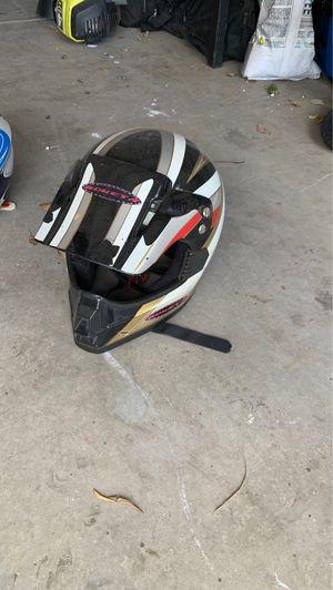 Black riding helmet for Sale in Fontana, CA