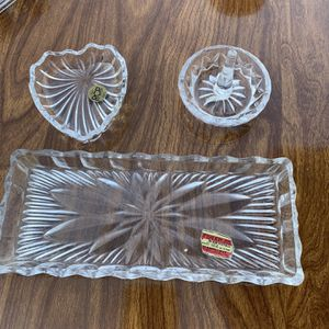 Vintage Crystal Jewelry Dishes for Sale in Downey, CA