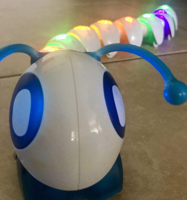 Code-a-pillar interactive toy