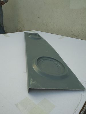 "Box Chevy caprice impala rear custom deck fiberglass for 2 SPEAKERS 6x9"" for Sale in Rialto, CA"