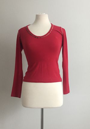 Burberry top long sleeve blouse size XS/S for Sale in Delray Beach, FL