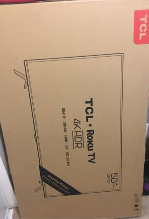 TCL ROKU TV 4K HDR for Sale in Seattle, WA