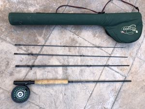 Cortland GRFP-1000 fly fishing rod with Case for Sale in Westminster, CA