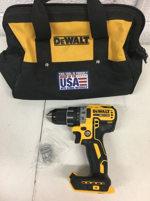 Dewalt 20 Volt MAX XR Brushless Cordless 1/2 in. Compact Drill/Driver Tool Only for Sale in Mesa, AZ
