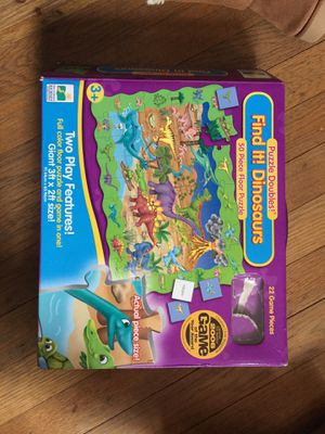 Dinosaur floor puzzle and game for Sale in Atlanta, GA