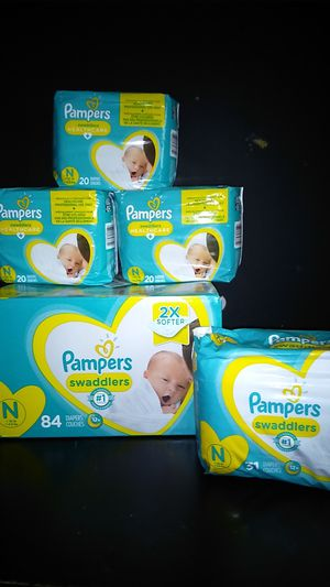Pampers and huggies for Sale in El Paso, TX