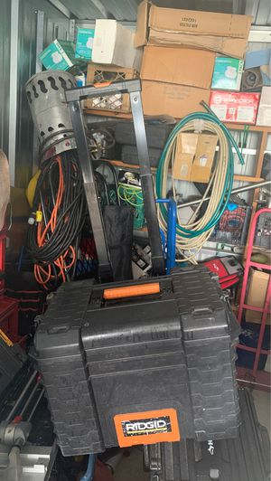 Ridgid tool box for Sale in Jackson Township, NJ