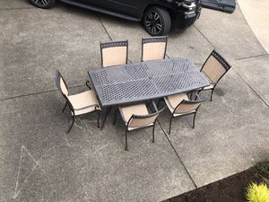 Outdoor Dining Table for Sale in Portland, OR
