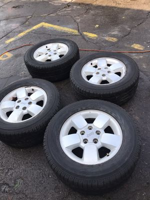 "17"" Jeep wheels rims tires 🔥💯 5X5 5X127 for Sale in Cicero, IL"