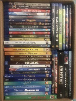 Blu-ray bundle for Sale in Bridgeport, CT