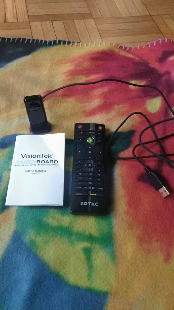 Zotac remote