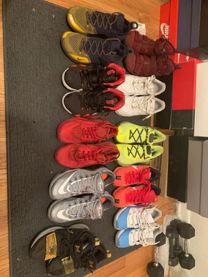 Jordan curry kyrie Kobe af1 Leviton hurache pg for Sale in Aurora, CO