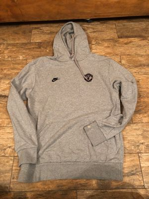 Manchester United football club soccer hoodie Nike size XL for Sale in Stockton, CA