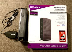NETGEAR WiFi Cable Modem/Router Combo for Sale in Denver, CO