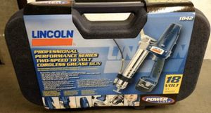 Lincoln 1842 18 Volt PowerLuber Grease Gun for Sale in Fresno, CA
