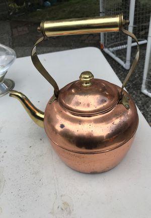 Copper tea pot for Sale in Everett, WA