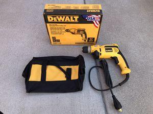 DEWALT 8 Amp Corded 3/8 in. Pistol Grip Drill for Sale in Phoenix, AZ