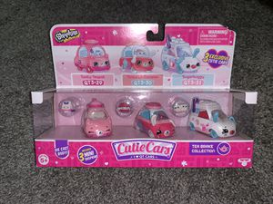 Shopkins Cutie Cars Set QT3-29/30/31 for Sale in St. Louis, MO