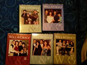 Will & Grace TV series seasons 1-5 for Sale in West Seneca, NY