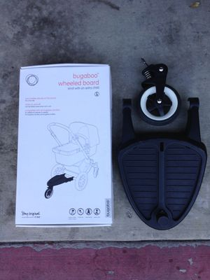 Bugaboo Wheeled board with stroller adapters for Sale in Irvine, CA