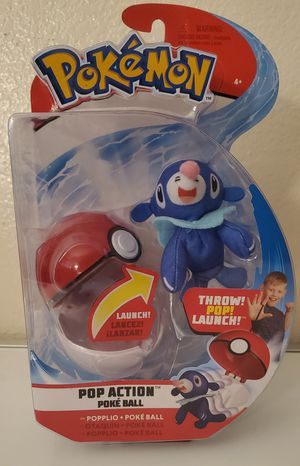 Pokemon poke ball popplio for Sale in Bloomington, CA