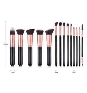 14 pc makeup brushes for Sale in Columbus, OH