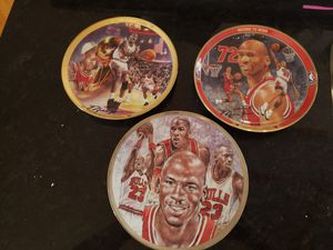 Michael jordan plates sports memorabilia for Sale in Saint Joseph, MO
