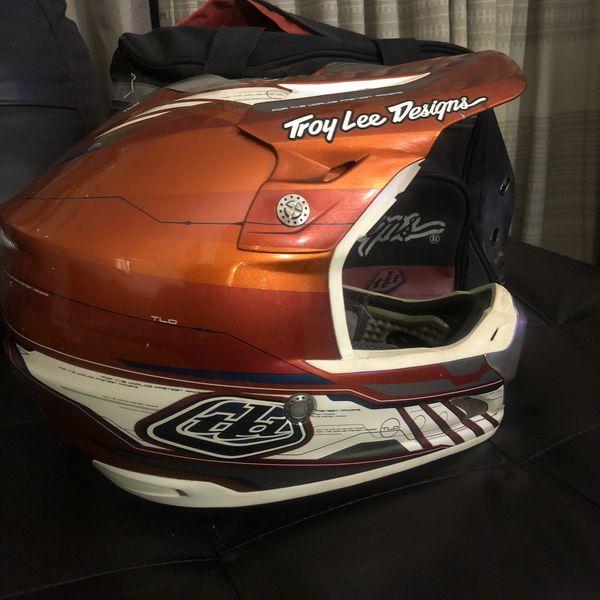 Troy Lee Helmet and bag