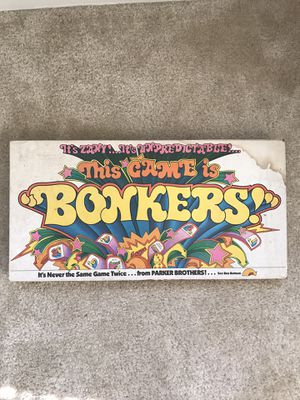 Vintage 1978 This Game is Bonkers Board Game by Parker Brothers for Sale in The Bronx, NY